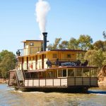 PS Emmylou cruising on the Murray River
