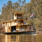 PS Emmylou on the Murray River